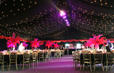 Party Marquee in Cambridge