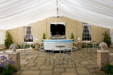 Party Marquee in Hertford
